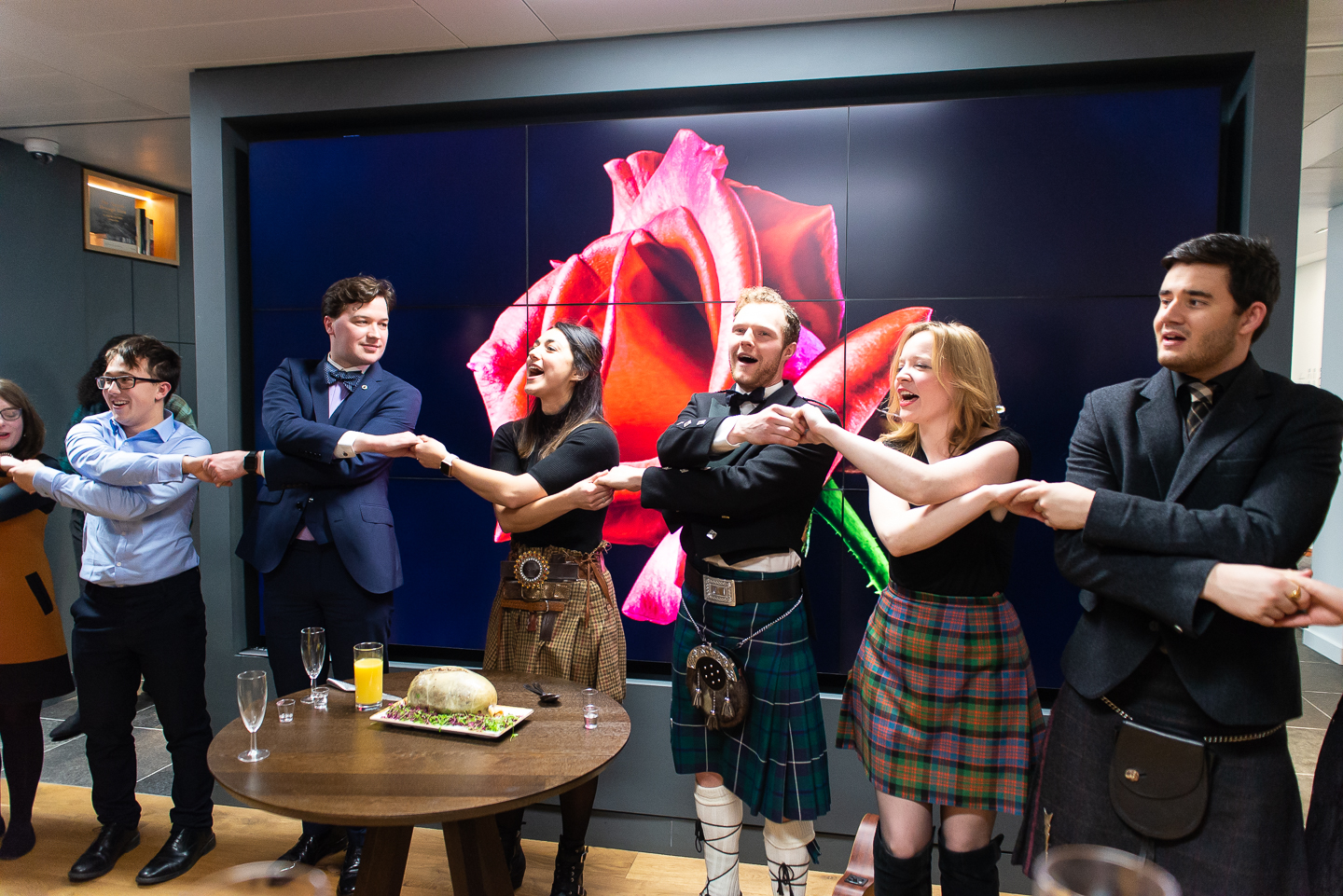 Scotland House London Burns Night