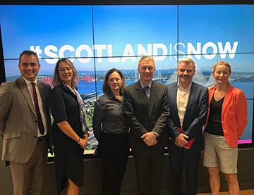 Minister for Trade & Innovation, Mr. Ivan McKee MSP, visits Scotland House
