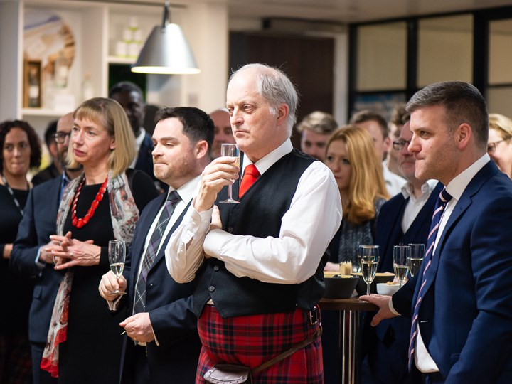 Scotland House Celebrates Burns Night